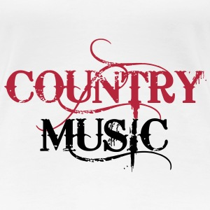 Country Music ! Women's T-Shirts - Women's Premium T-Shirt