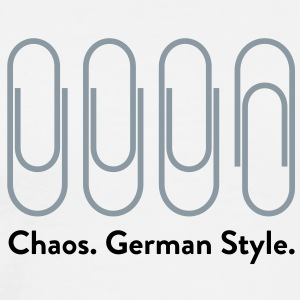 Chaos German Style (2c)++2012 T-Shirts - Men's Premium T-Shirt