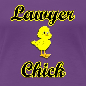 Lawyer Chick Women's T-Shirts - Women's Premium T-Shirt