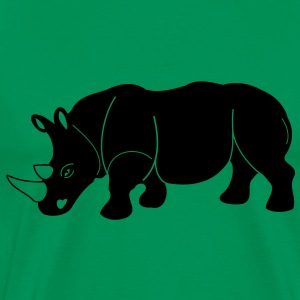 rhino rhinoceros - Men's Premium T-Shirt