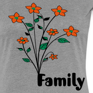 Design ~  flowers and family