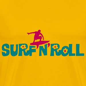 surf_and_roll T-Shirts - Men's Premium T-Shirt