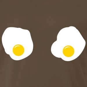 Fried Eggs (Sarah Lukas) T-Shirts - Men's Premium T-Shirt