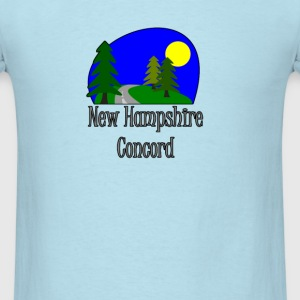 New Hampshire Concord truck stop tee T-Shirts - Men's T-Shirt