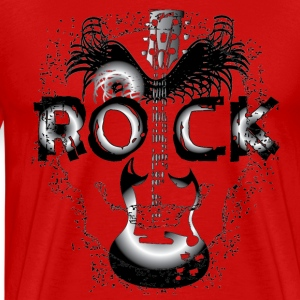 ROCK Men's 3XL & 4XL Shirt - Men's Premium T-Shirt