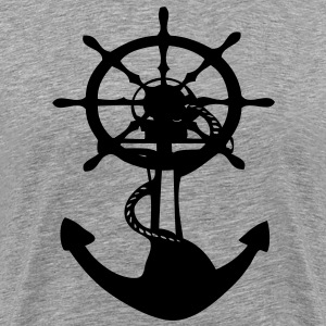 Anchor Men's 3XL & 4XL ShirtM - Men's Premium T-Shirt