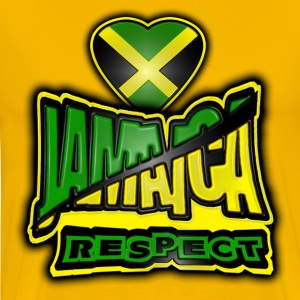 jamaica respect T-Shirts - Men's Premium T-Shirt