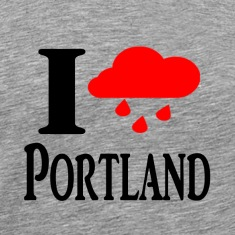 I heart Portland (Rain Cloud)