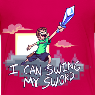 Design ~ I Can Swing My Sword (Minecraft Diamond Sword Song) (Children)