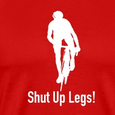 pedal harder shut up legs Jen Voigt Tour De France T-Shirts