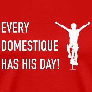 Every Domestique Cycling Tee Shirt T-Shirts - Men's Premium T-Shirt