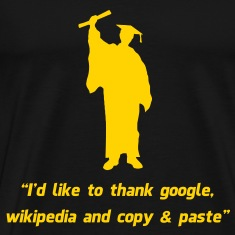 Internet Graduate Graduation thanks T-Shirts