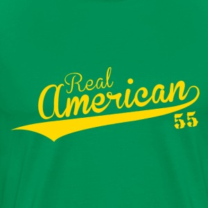 Real American Power.png T-Shirts - Men's Premium T-Shirt