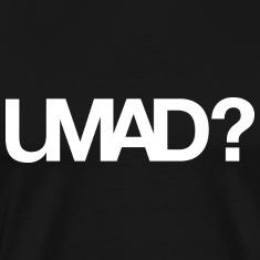 U Mad Bro T-shirt White