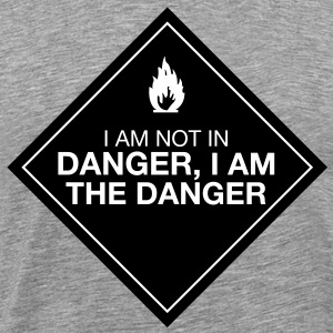 I am the danger - Men's Premium T-Shirt