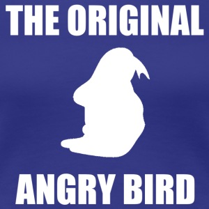 The Original Angry Bird White Women's T-Shirts - Women's Premium T-Shirt