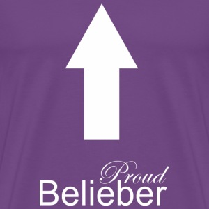 Proud Belieber - Men's Premium T-Shirt