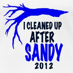 I CLEANED UP AFTER SANDY