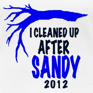 I CLEANED UP AFTER SANDY - Women's Premium T-Shirt