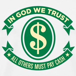 In God We Trust 2 (2c)++2012 T-Shirts - Men's Premium T-Shirt
