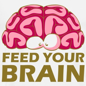 Feed Your Brain T-Shirts - Men's Premium T-Shirt