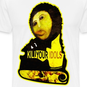 ECCE HOMO & KILL YOUR IDOLS T-Shirts - Men's Premium T-Shirt