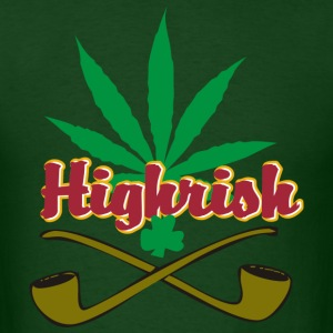 Cannabis Irish T-Shirt - Men's T-Shirt