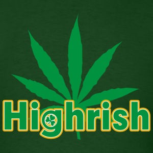 Irish Cannabis T-Shirt - Men's T-Shirt