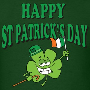 Happy St Patrick's Day T-Shirt - Men's T-Shirt