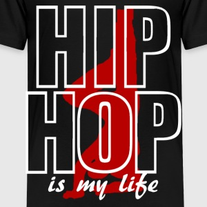 hip hop is my life Baby & Toddler Shirts - Toddler Premium T-Shirt