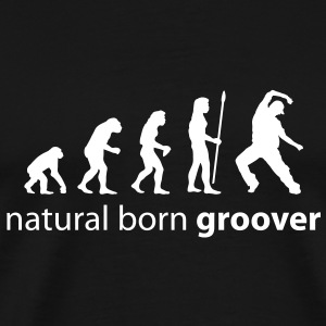 evolution_groover T-Shirts - Men's Premium T-Shirt
