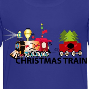 Christmas Train - Toddler Premium T-Shirt