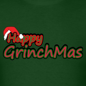Happy Grinch Mas - Men's T-Shirt