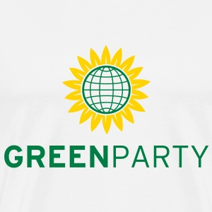 Green Party T-Shirt - Men's Premium T-Shirt