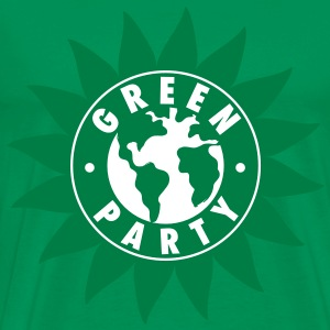Green Party Symbol T-Shirt - Men's Premium T-Shirt