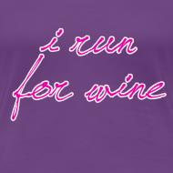 Design ~ I run for wine
