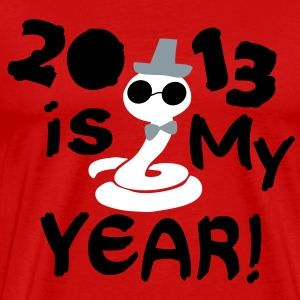 2013 is my Year Men's 3XL & 4XL Shirt - Men's Premium T-Shirt