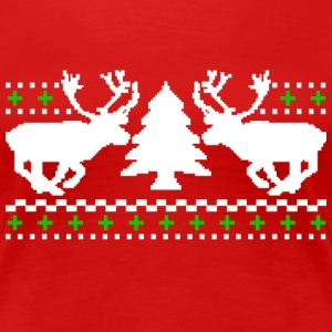 Funny! Ugly Christmas Sweater - Women's Premium T-Shirt