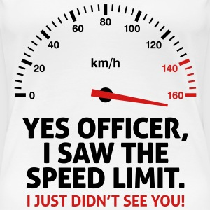 Speed Limit 2 (2c)++2012 Women's T-Shirts - Women's Premium T-Shirt