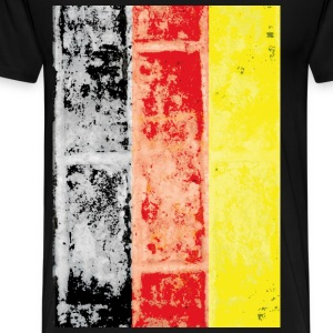 German vintage flag - Men's Premium T-Shirt