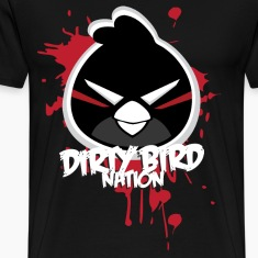 Dirty Bird Nation Cartoon T-Shirts