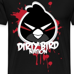 Dirty Bird Nation Cartoon T-Shirts - Men's Premium T-Shirt