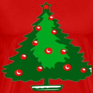 Christmas tree. T-Shirts - Men's Premium T-Shirt