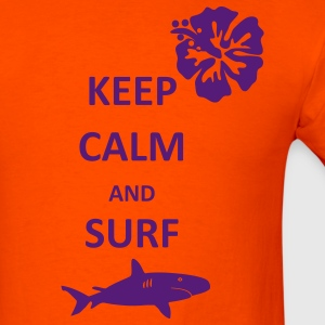 Keep Calm Surfer  T-Shirts - Men's T-Shirt