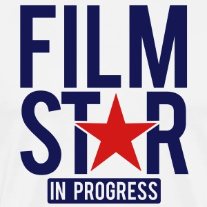 Film Star in progress T-Shirts - Men's Premium T-Shirt