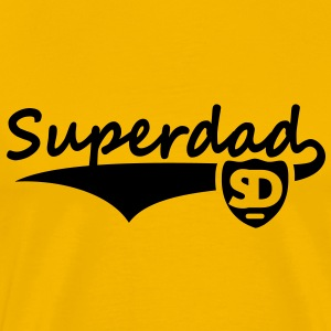 Superdad Design T-Shirt BY - Men's Premium T-Shirt