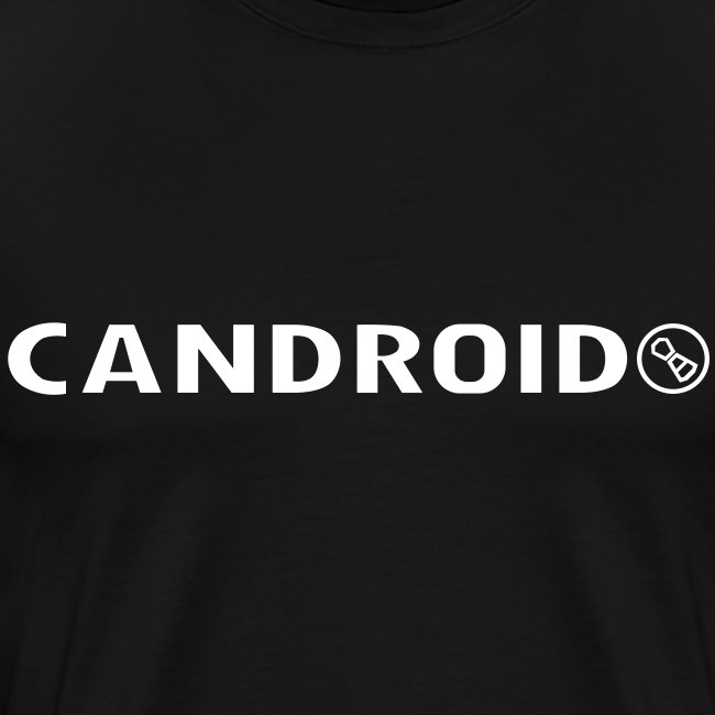 Candroid Shirt (white text)
