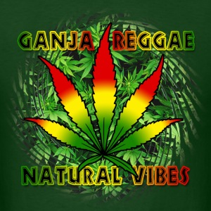 ganja reggae natural vibes T-Shirts - Men's T-Shirt