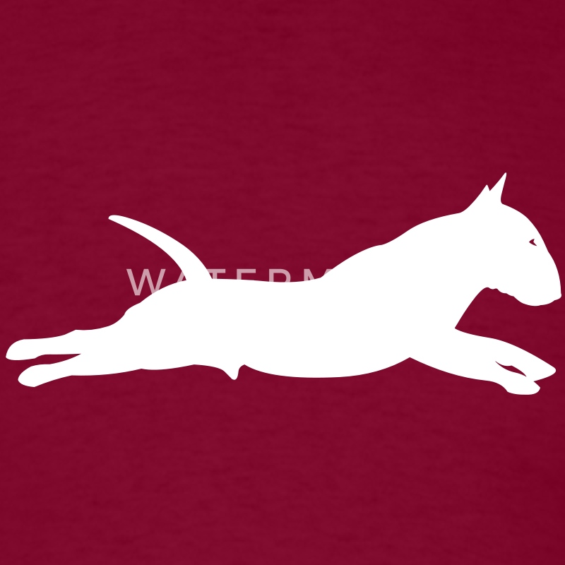 Bull Terrier jump T-Shirts - Men's T-Shirt
