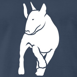 Bull Terrier inMotion T-Shirts - Men's Premium T-Shirt
